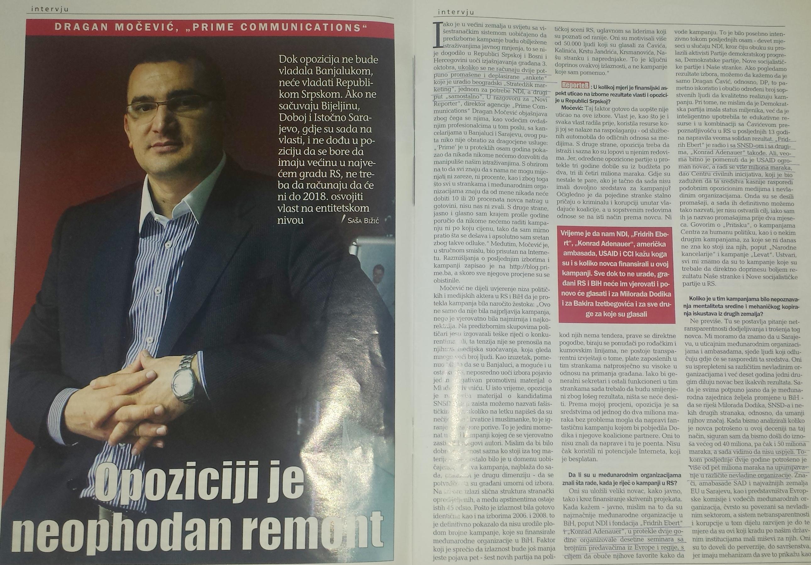 Intervju Reporter 2010