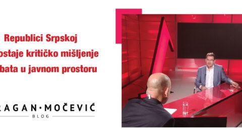 Republici Srpskoj nedostaje kritičko mišljenje i debata u javnom prostoru